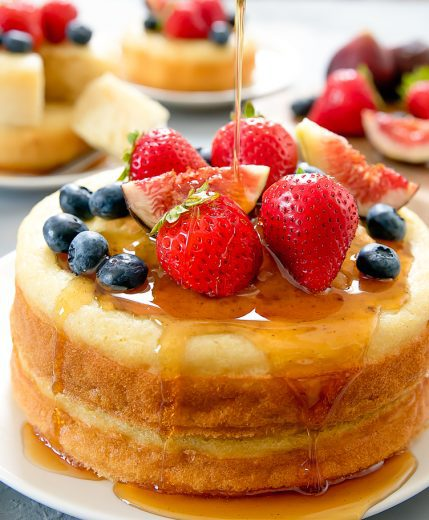 baked buttermilk pancakes