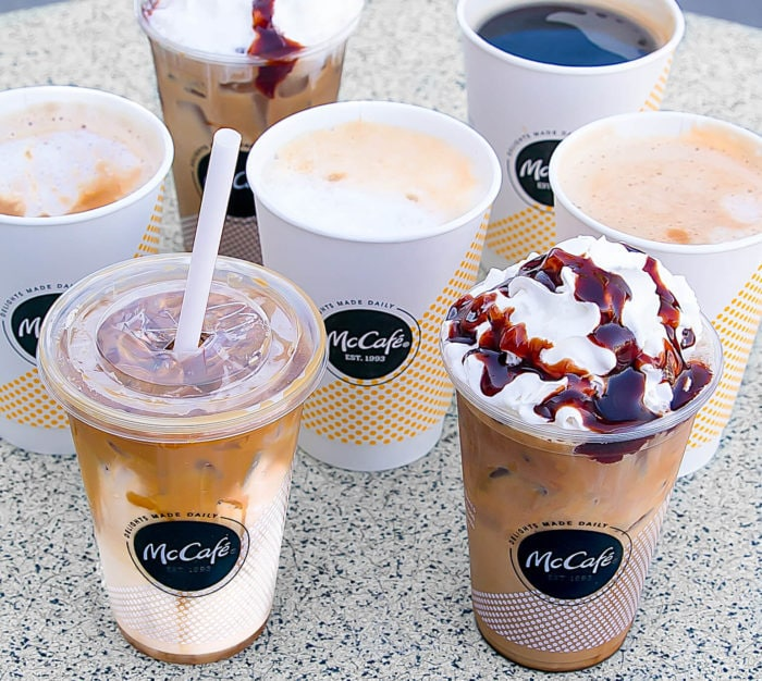 New McCafé Beverages