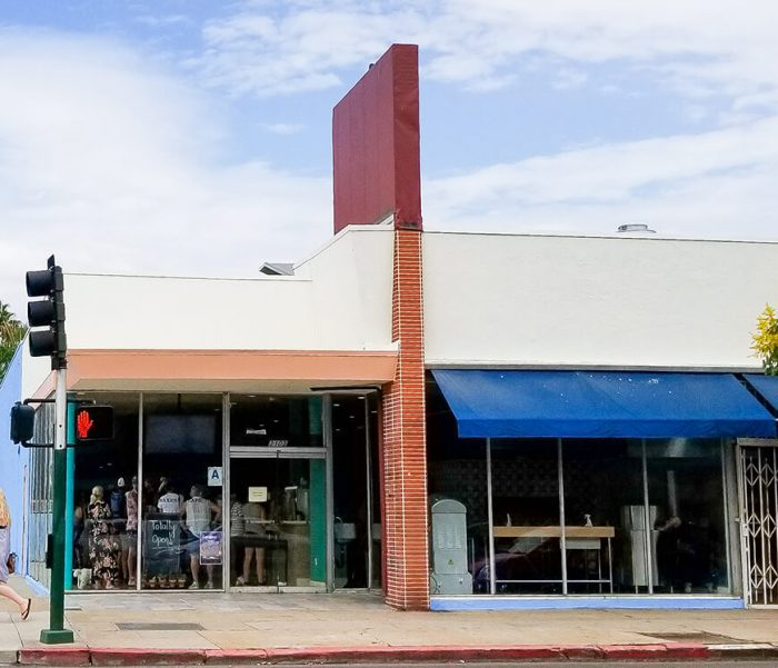 photo of the outside of Nomad Donuts Bakery & Cafe