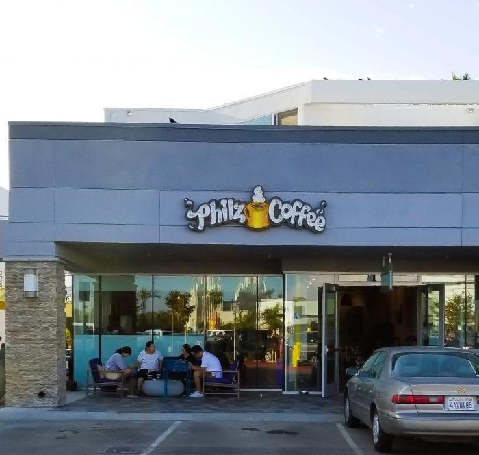 photo of the outside of Philz Coffee La Jolla