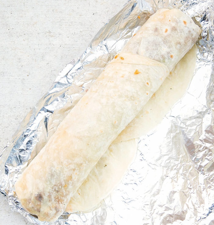 photo of jumbo California burrito