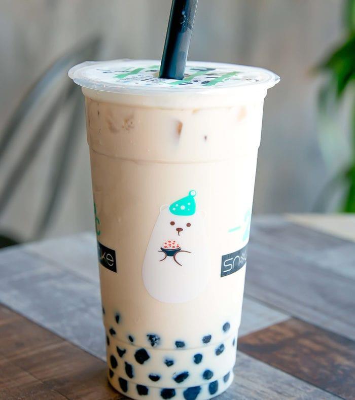 photo of a 21 Below Milk Tea