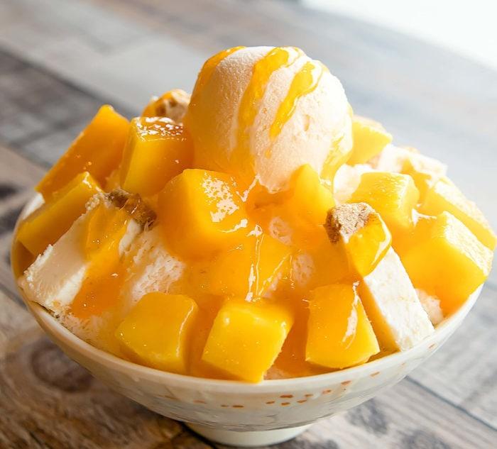 photo of Mango Cheesecake Snowflake