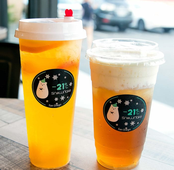 photo of Passionfruit Green Tea and Cheese Oolong Tea
