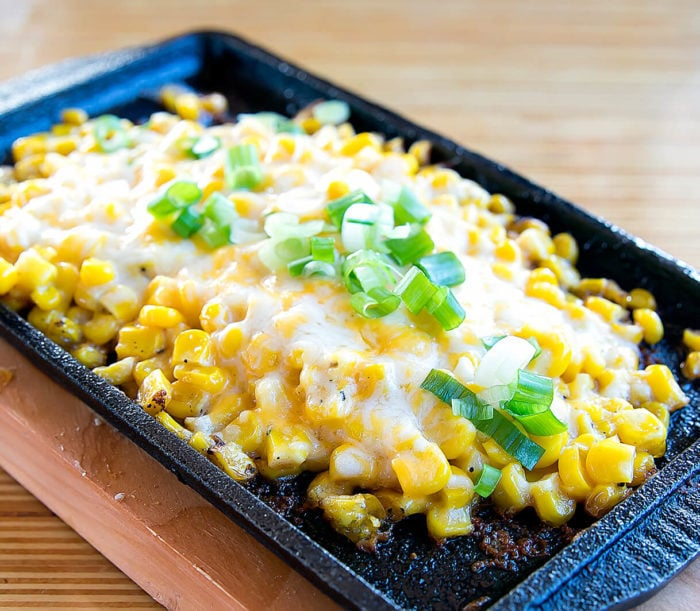photo of a dish of Corn Cheese