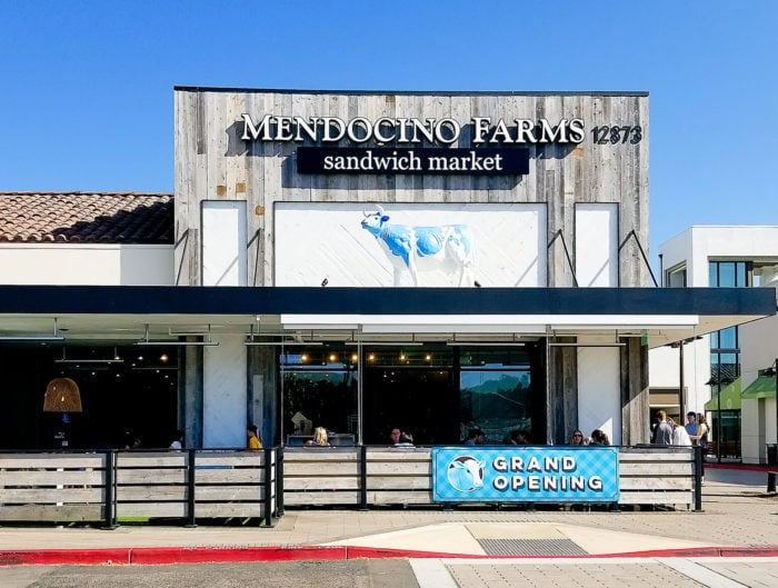 photo of the outside of Mendocino Farms
