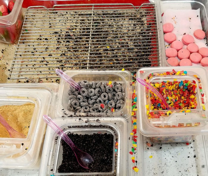 photo of toppings