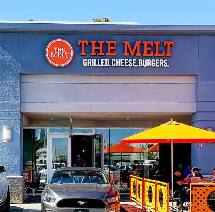 photo of the outside of The Melt