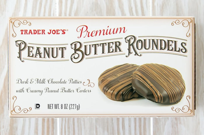 photo of a package of Peanut Butter Roundels
