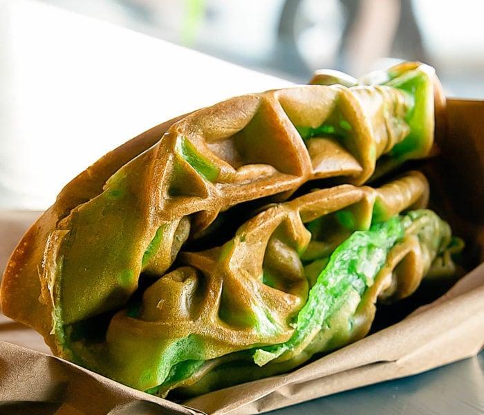 photo of Pandan Waffle