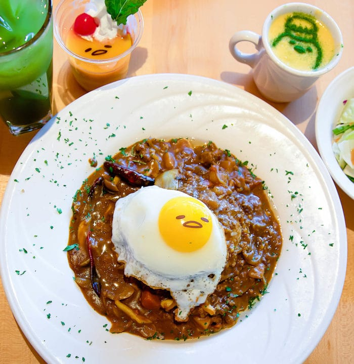 photo of The Gudetama meal