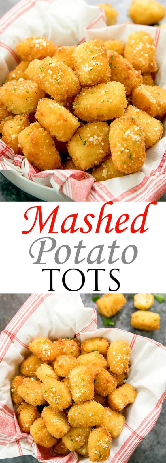 Mashed Potato Tots