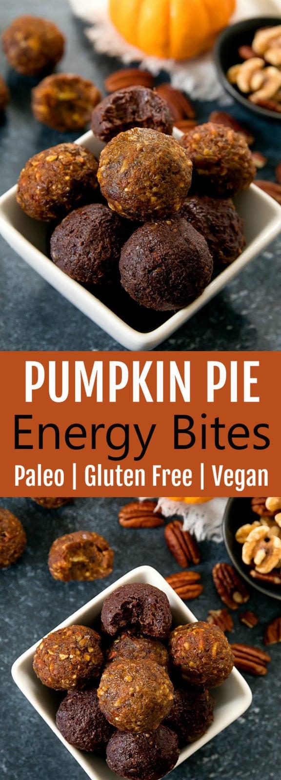 Pumpkin Pie Energy Balls