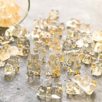 Gold Champagne Gummy Bears