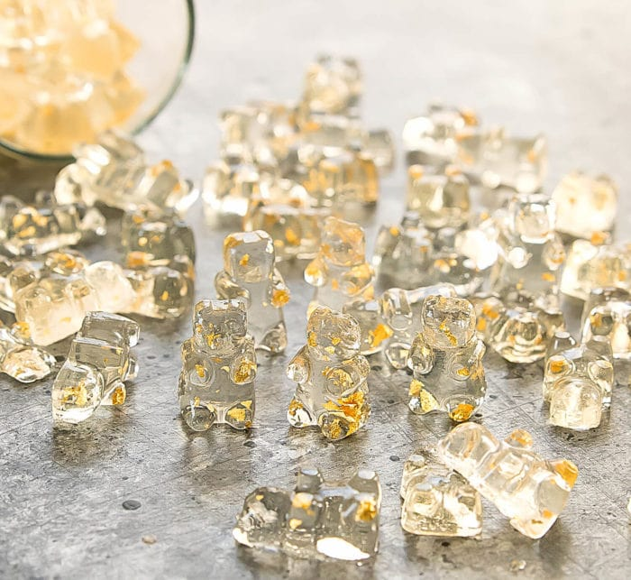 photo of Gold Champagne Gummy Bears