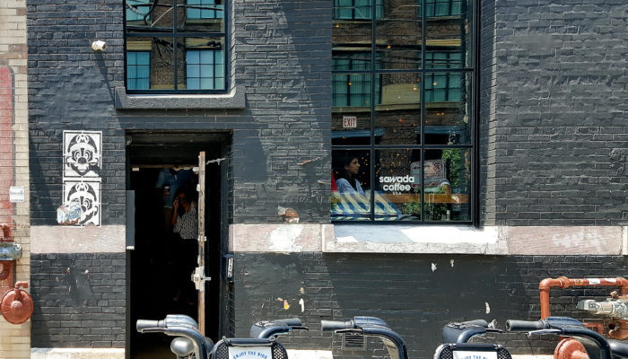 photo of the outside of Sawada Coffee