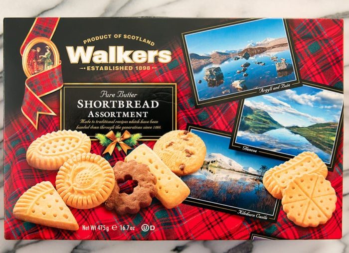photo of a package of Walkers Pure Butter Shortbread Assortment