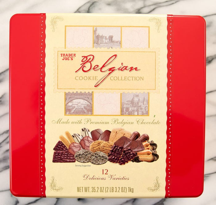 photo of a package of Belgian Cookie Collection
