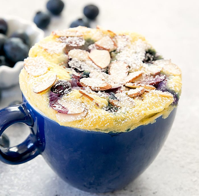 photo of Blueberry Almond Mug Cake