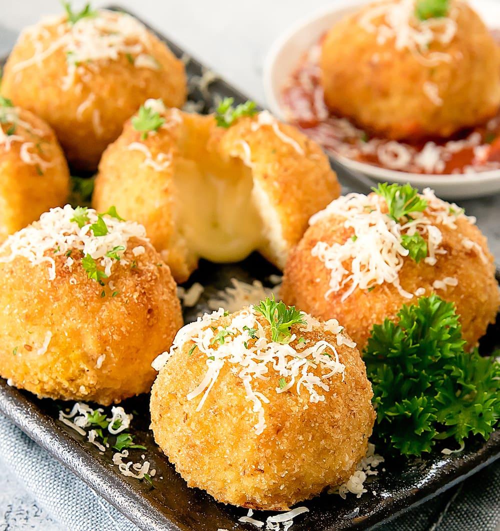 Cauliflower Arancini Kirbie S Cravings
