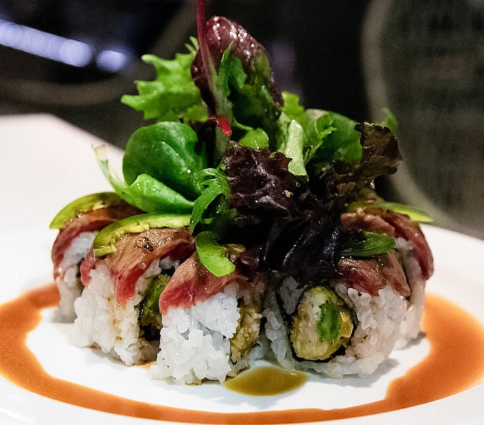 photo of Wagyu roll from Cloak & Petal