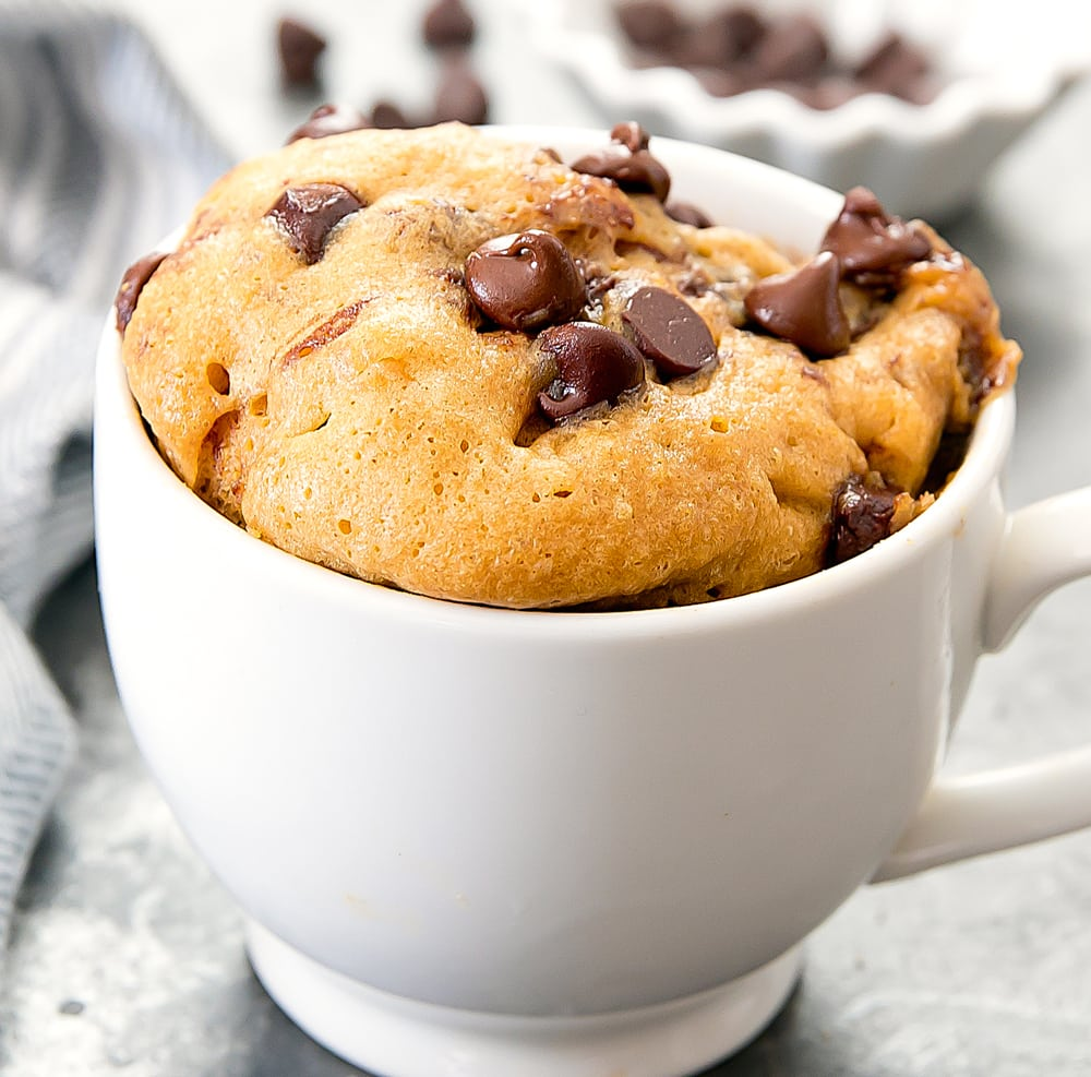 Flourless Cookie In A Mug