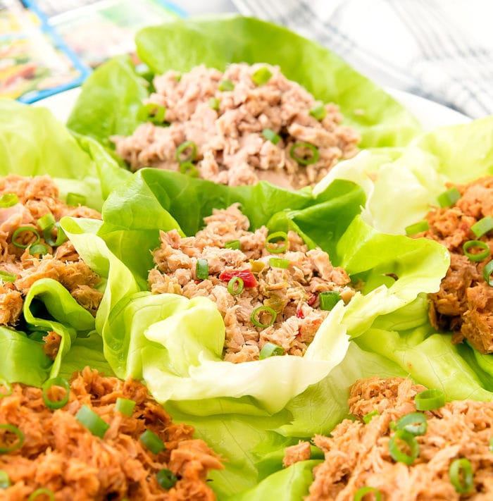 photo of Tuna Lettuce Wraps