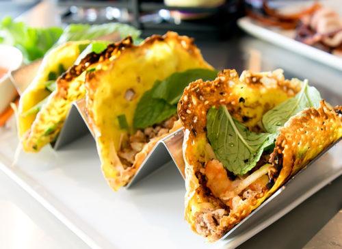 photo of Banh Xeo tacos
