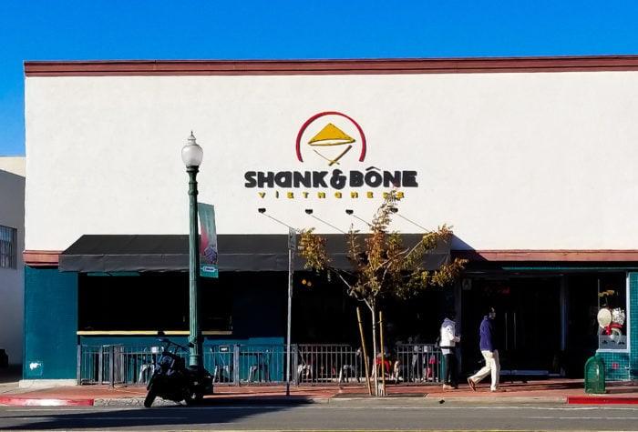 photo of the outside of Shank & Bone restaurant