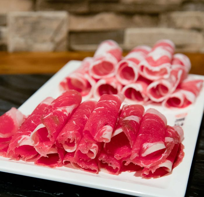 photo of raw slices of Beef & Lamb