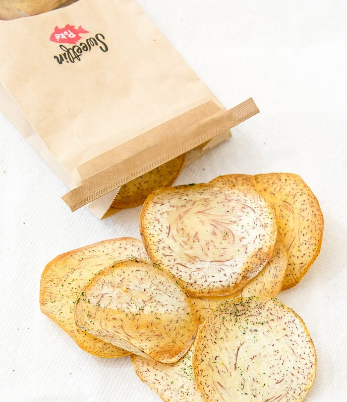 photo of taro chips