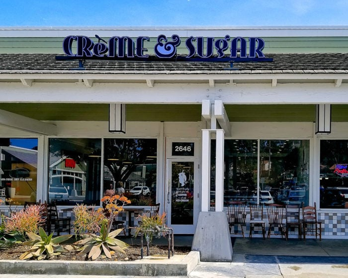 photo of the exterior of Creme & Sugar