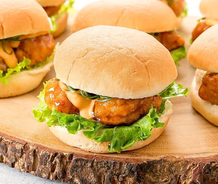 general tso's chicken slider photo