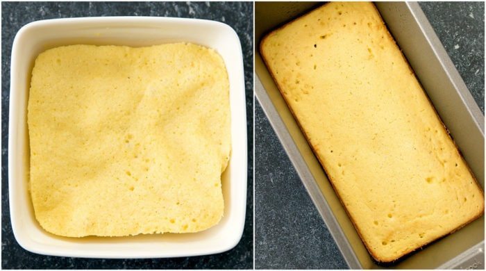 step by step photo collage showing the two ways you can cook the bread