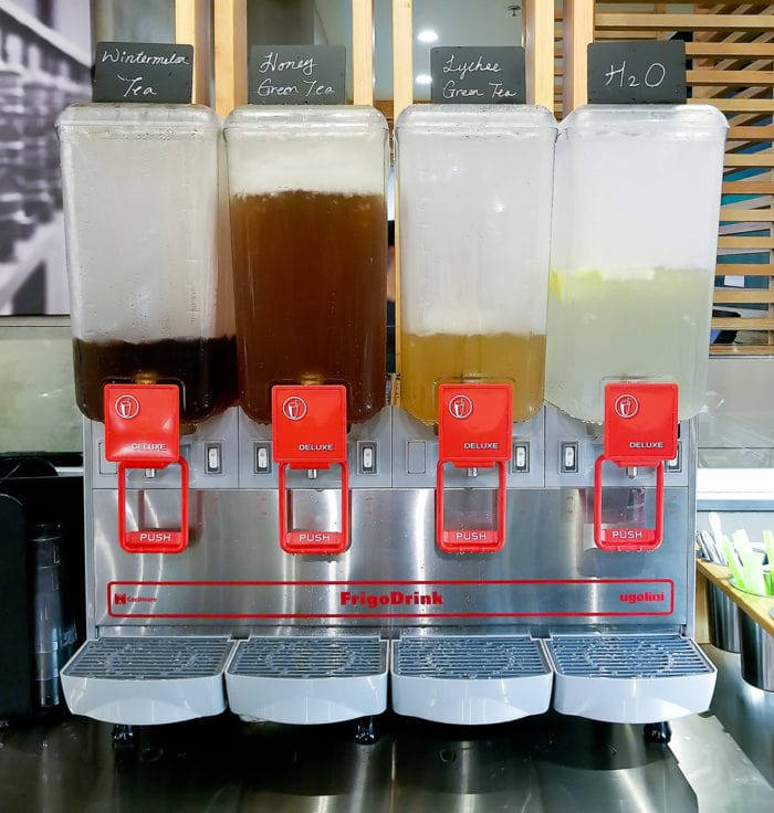 photo of drink selection
