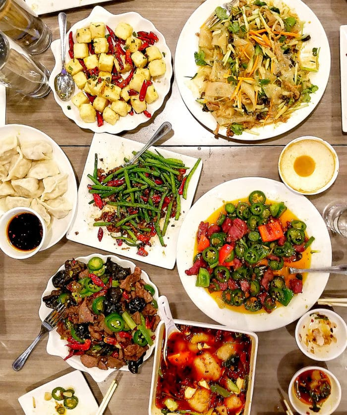 photo of Lunar New Year dishes