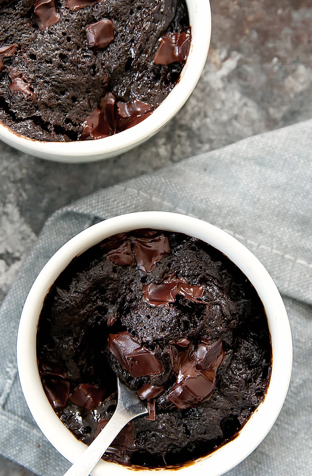 3 Ingredient Flourless Nutella Brownie Mug Cake Kirbie S Cravings