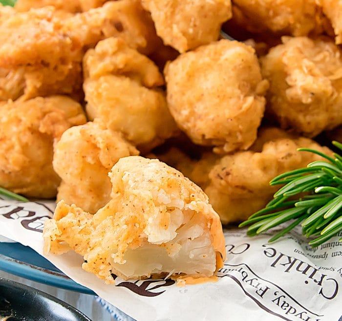 close-up photo of Buttermilk Fried Cauliflower