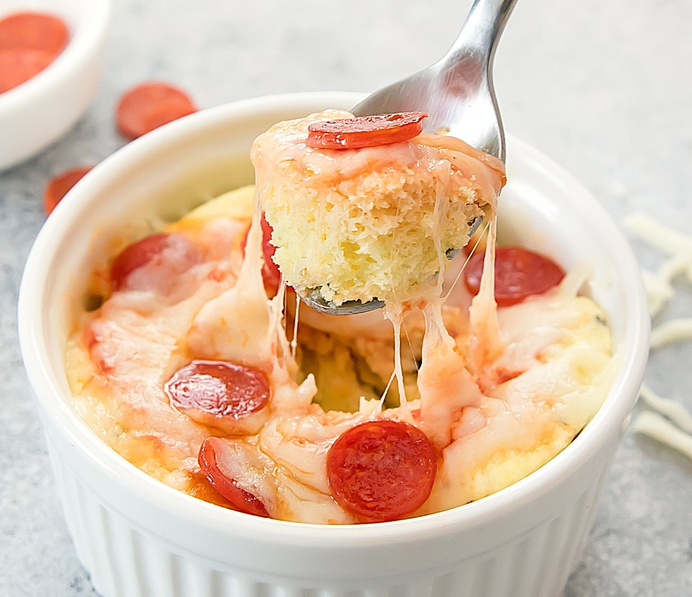 Microwave Pizza Bread Low Carb Keto Kirbie S Cravings