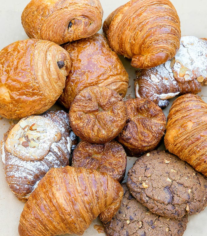 photo of a variety of pastries