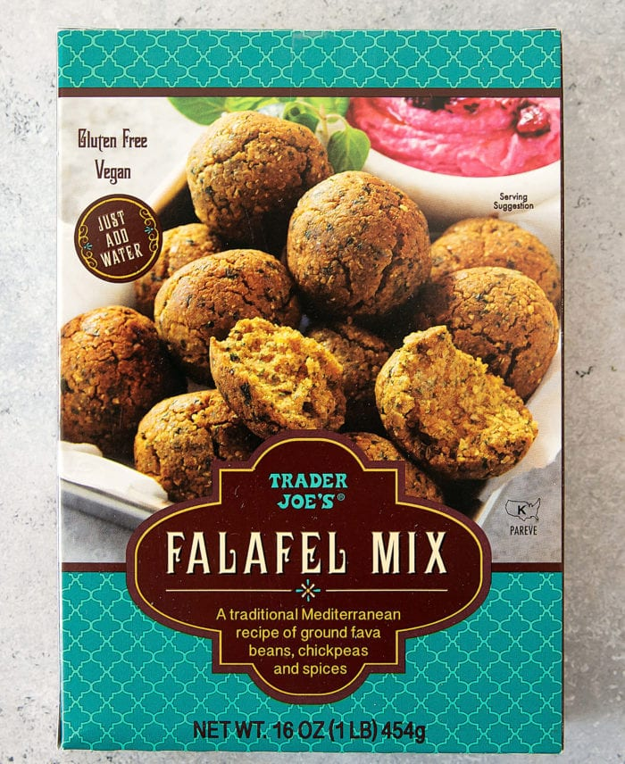 photo of a package of Falafel Mix
