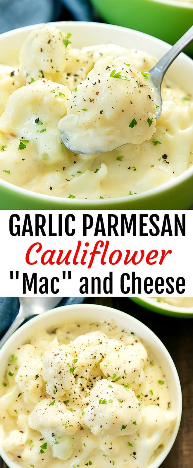 Garlic Parmesan Cauliflower