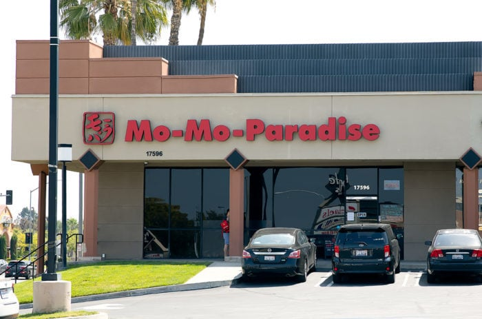 photo of the outside of Mo-Mo-Paradise