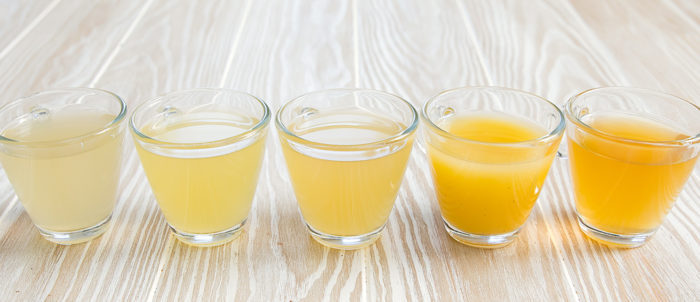 photo of chicken broths in glasses