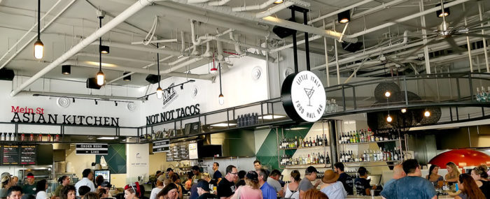 photo of the bar at Little Italy Food Hall