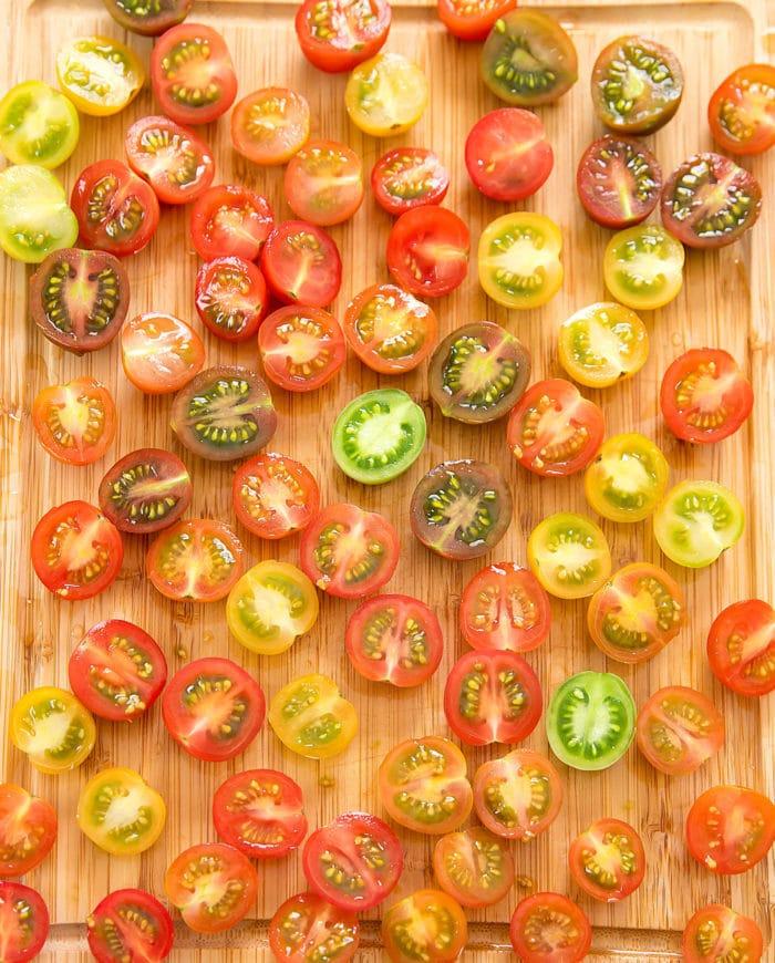 prep photo of tomatoes