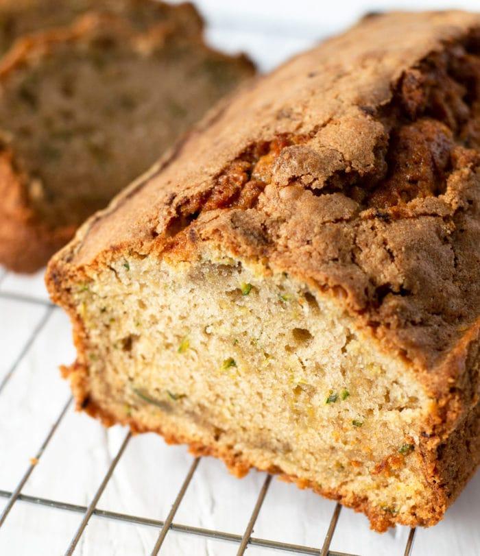 close-up photo of Zucchini Bread