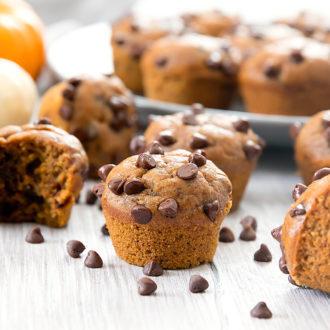 photo of pumpkin pie muffins