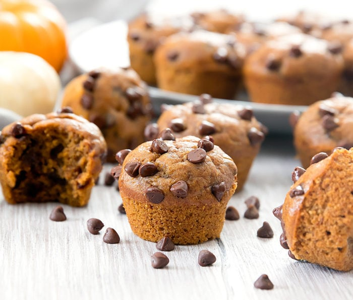 Flourless Pumpkin Pie Muffins