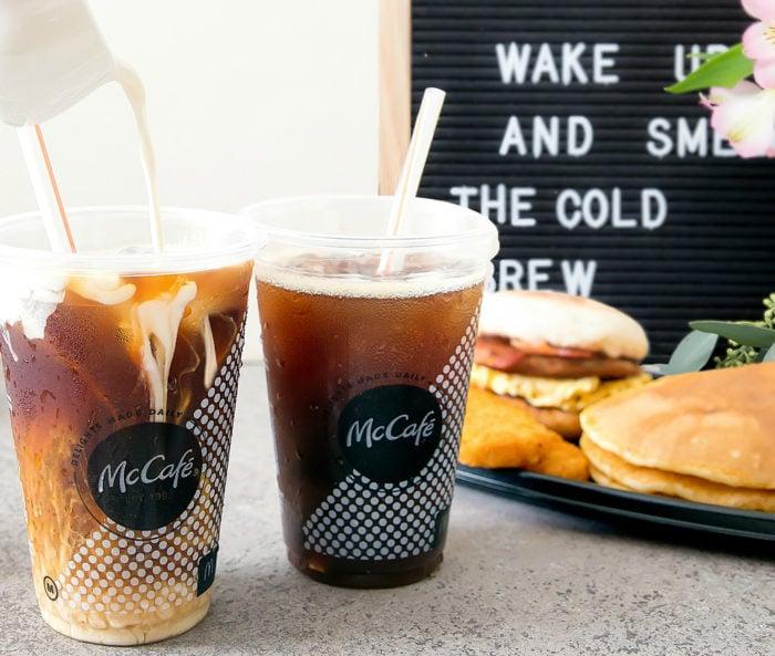 McDonald's New McCafé Cold Brew Coffee